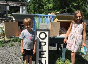 Little Free Library Pop-Up at The Morris Marketplace @ South Farms