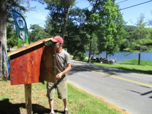 Grand Opening of Little Free Library at Lake Waramaug @ Lake Waramaug State Park